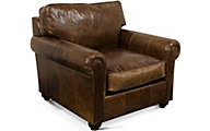 England Lonestar 100% Leather Accent Chair