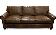 England Lonestar 100% Leather Sofa