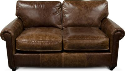 England Lonestar 100% Leather Loveseat