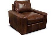 England Loyston 100% Leather Accent Chair