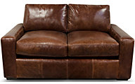 England Loyston 100% Leather Loveseat