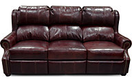 England Lucia 100% Leather Reclining Sofa