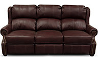 England Lucia Rosetta 100% Leather Reclining Sofa
