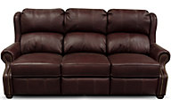 England Lucia Rosetta 100% Leather Power Reclining Sofa