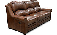 England Lanie 100% Leather Power Reclining Sofa