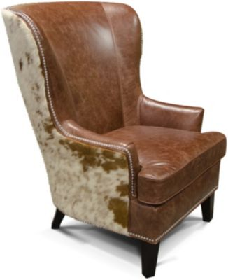 England Lorenzo Leather Wing Chair