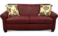 England Lilly Red Leather Full Sleeper