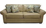 England Landry Tan Leather Sofa