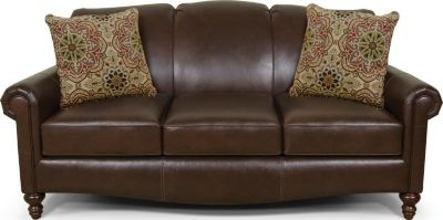 England Linden Leather Sofa