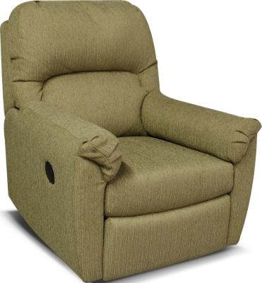 England Ferguson Tan Power Rocker Recliner