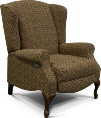 England Martha Power Reclining Wing Chair