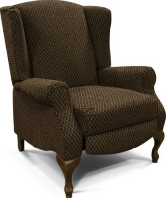England Martha Diamond Press-Back Wing Chair