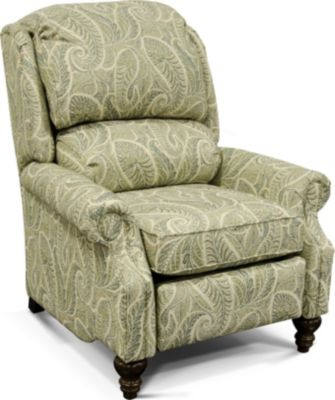 England Frances Leaf Press-Back Recliner
