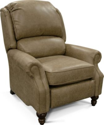 England Frances Mocha Press-Back Recliner