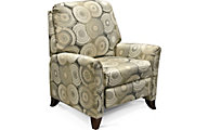 England Kenton Circles Press-Back Recliner