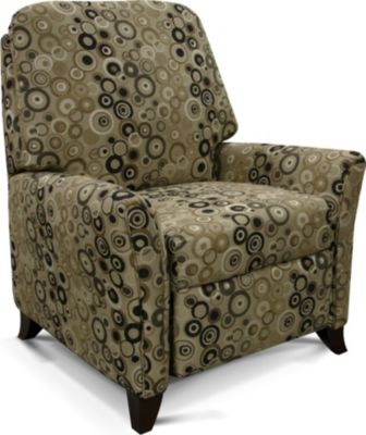 England Kenton Dots Press-Back Recliner