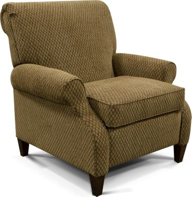 England Highland Tan Press-Back Recliner