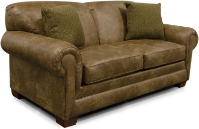 England Monroe Brown Full Sleeper Sofa
