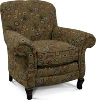 England Christopher Floral Accent Chair
