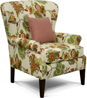 England Natalie Floral Accent Chair
