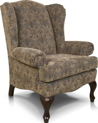 England Coleen Taupe Wing Chair