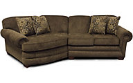 England Monroe Brown 2-Piece Sectional