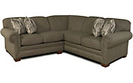 England Monroe Taupe 2-Piece Sectional