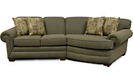 England Monroe Moss 2-Piece Sectional