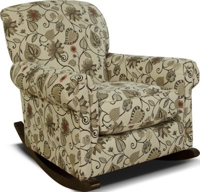 England Eliza Floral Rocking Chair