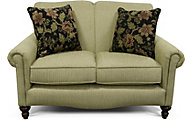 England Eliza Green Loveseat