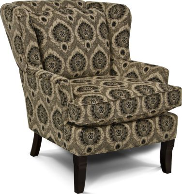 England Scarlet Wing Chair