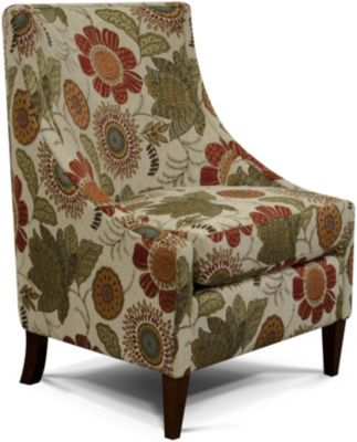 England Devin Blossoms Accent Chair