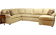 England Malibu Cream 3-Piece Sectional