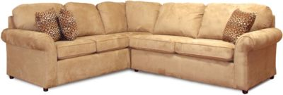 England Malibu Cream 2-Piece Sectional