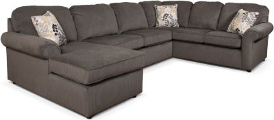 England Malibu Gray 3-Piece Sectional
