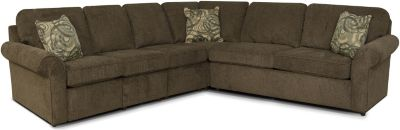 England Malibu Brown 4-Piece Sleeper Sectional