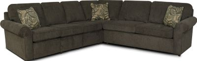 England Malibu Espresso 4-Piece Sleeper Sectional