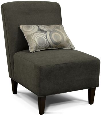 England Sunset Gray Armless Chair