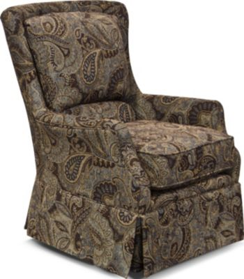 England Burke Paisley Accent Chair