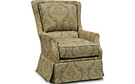 England Burke Damask Accent Chair