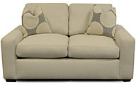 England Treece Cream Loveseat