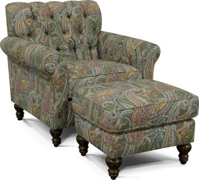 England Vespers Paisley Chair