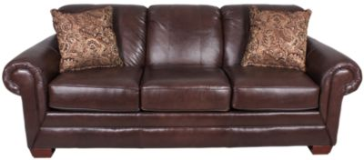 England Leah Leather Queen Sleeper with Air Mattress