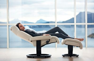 Ekornes Cream Chair