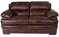 Flexsteel Dylan 100% Leather Loveseat