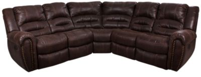 Flexsteel Downtown 3-Piece Reclining Sectional