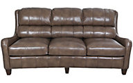 Flexsteel Lukas 100% Leather Sofa