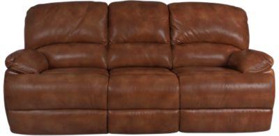 Flexsteel Dylan 100% Leather Reclining Sofa