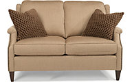 Flexsteel Zevon Cream Loveseat