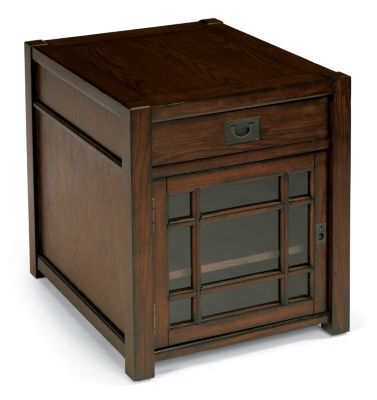 Flexsteel Sonoma End Table with Door